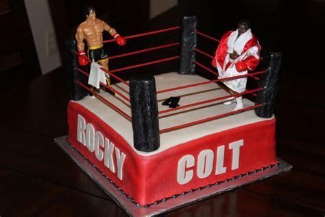 Rocky Apollo Creed Boxing Cake   CakeCentral.com