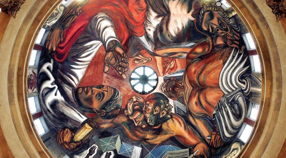 Concluye La Restauracion De Los Murales De Jose Clemente Orozco Udgtv