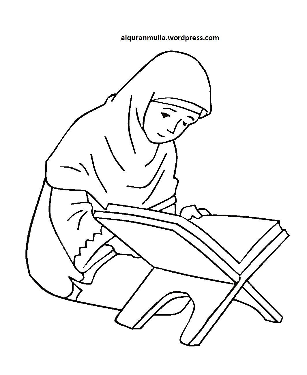 Kartun Muslimah Yg Sedang Sakit Gambar Kartun