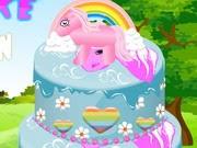 تزيين كعكة الحصان