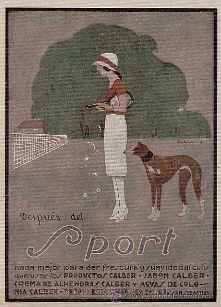 Baldrich, Calber cosmetics, 1920