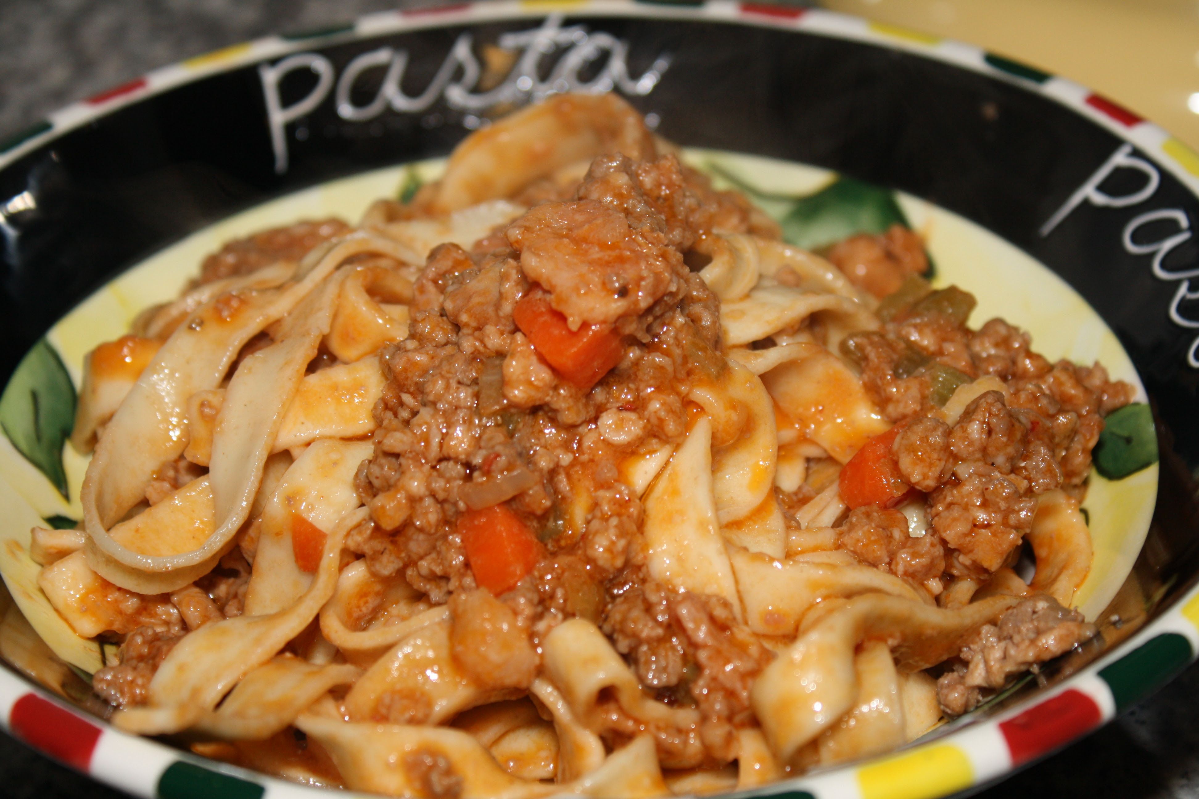 Pappardelle Bolognese Recipe3