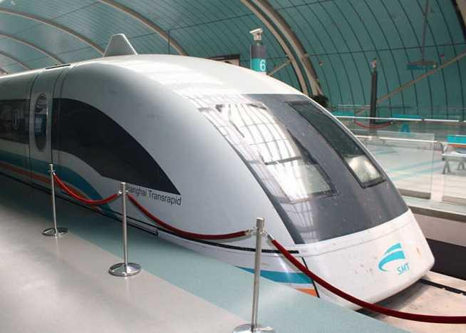 Shanghai Maglev (431 kph)
