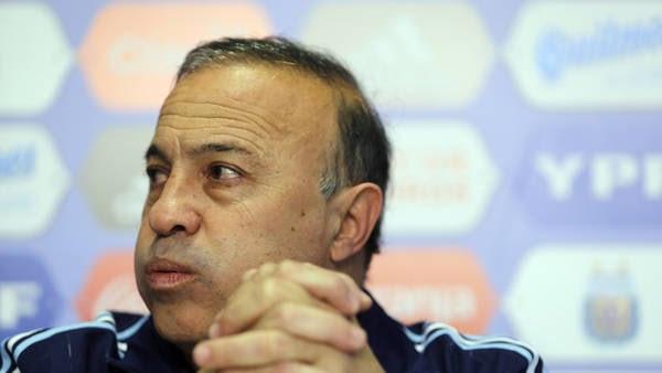 Julio Olarticoechea, DT argentino en los Juegos Olímpicos. Foto: Gustavo Ortiz.