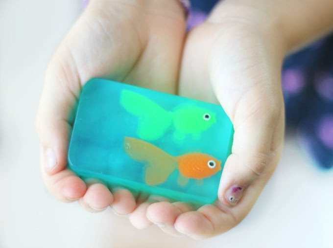 Melt and Pour Glycerin Fish Soap