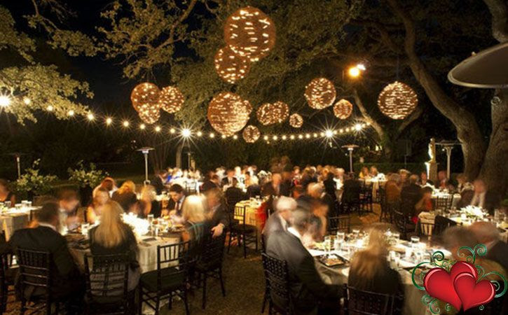 Small Back Yard Wedding Reception