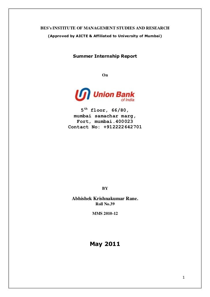 19 TUTORIAL INTERNSHIP LETTER SAMPLE FOR BANK WITH VIDEO AND PDF