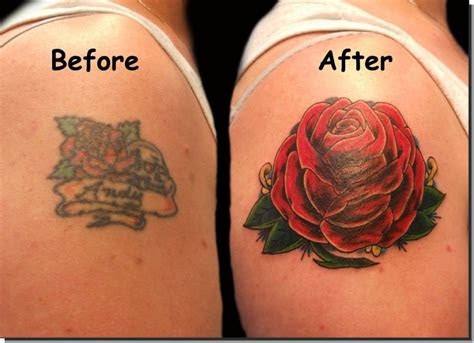 red rose cover arm tattoo designs tattoomagz