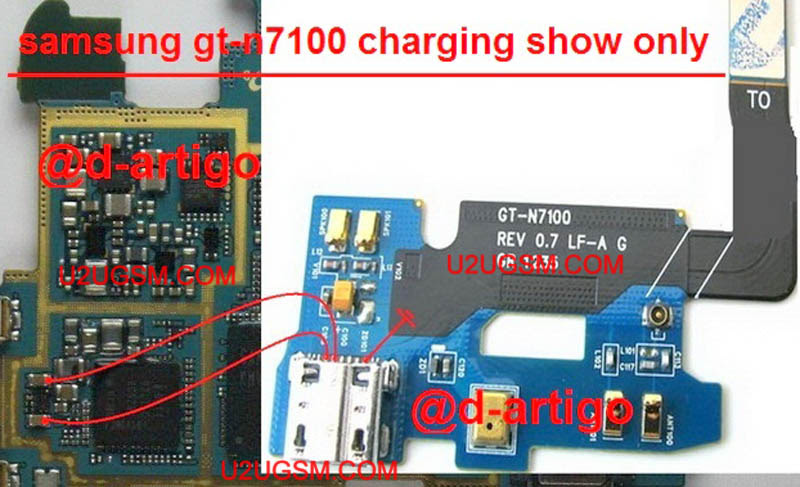 Samsung Galaxy Note II N7100,Nokia,Charging,Charging Problem,Charging Solution,Charging  Jumpers,Charging Ways