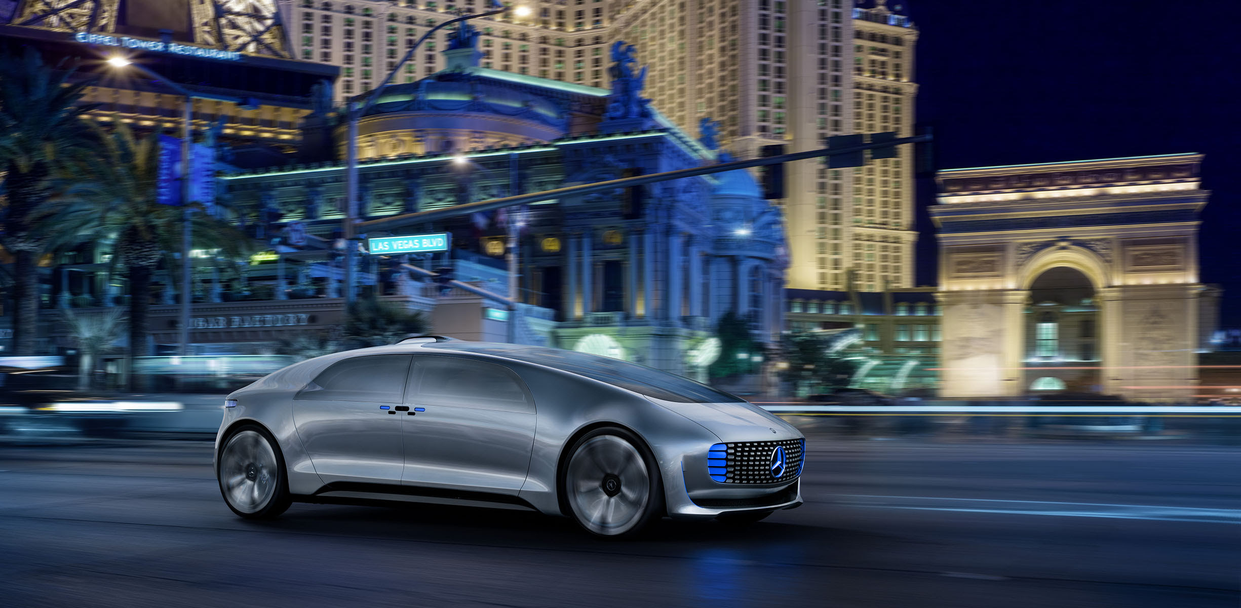 Mercedes-Benz F015 Luxury in Motion autonomous concept ...