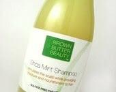 Shea Mint Moisturizing Shampoo - SAMPLE SIZE