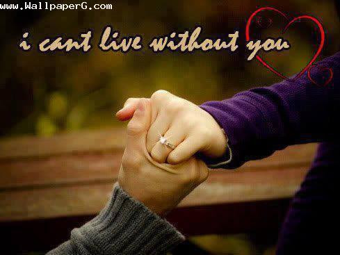 Download Cant Live Without You Promise Day Wallpapers Mobile Version