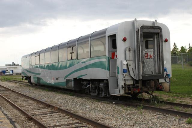 VIA 1722 in Edmonton Alberta