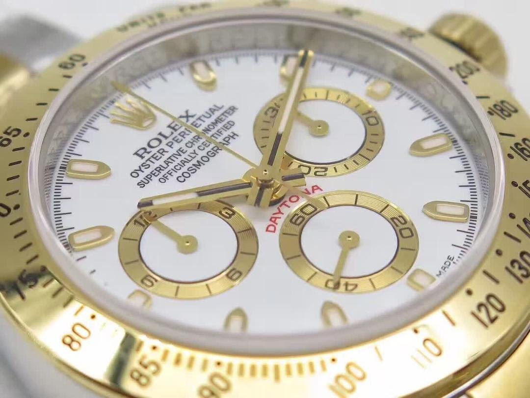 Replica Rolex Daytona White Dial