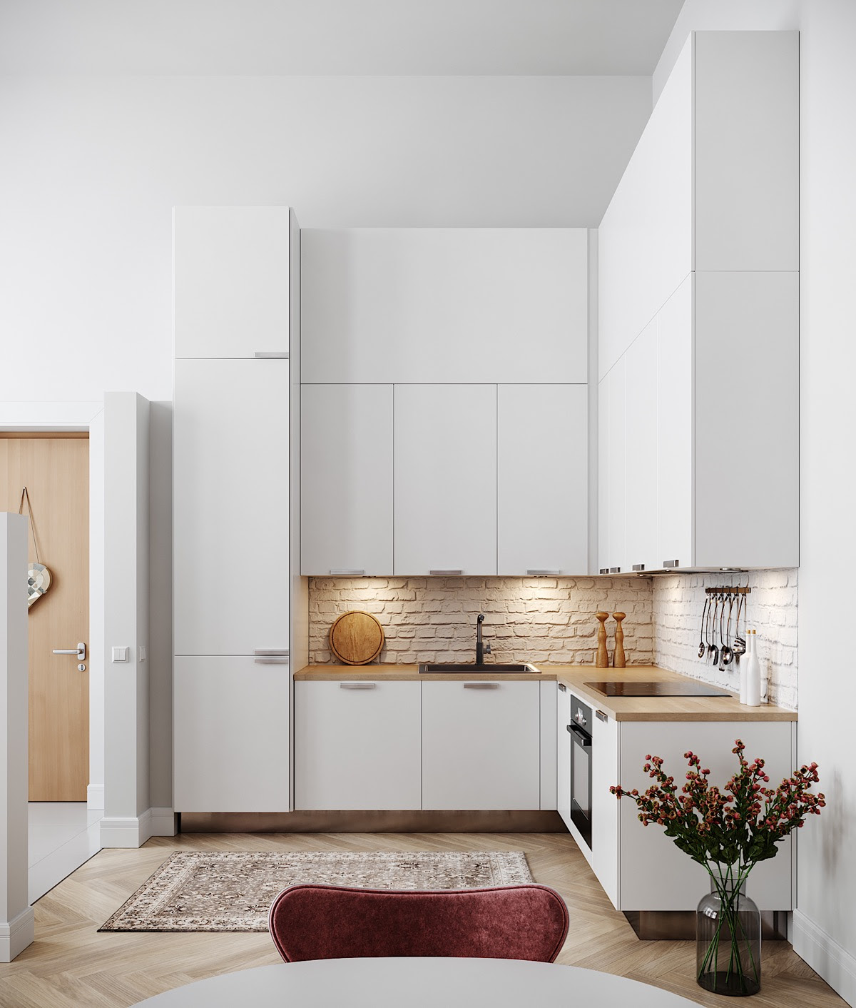50 Lovely L-Shaped Kitchen Designs & Tips You Can Use From ...