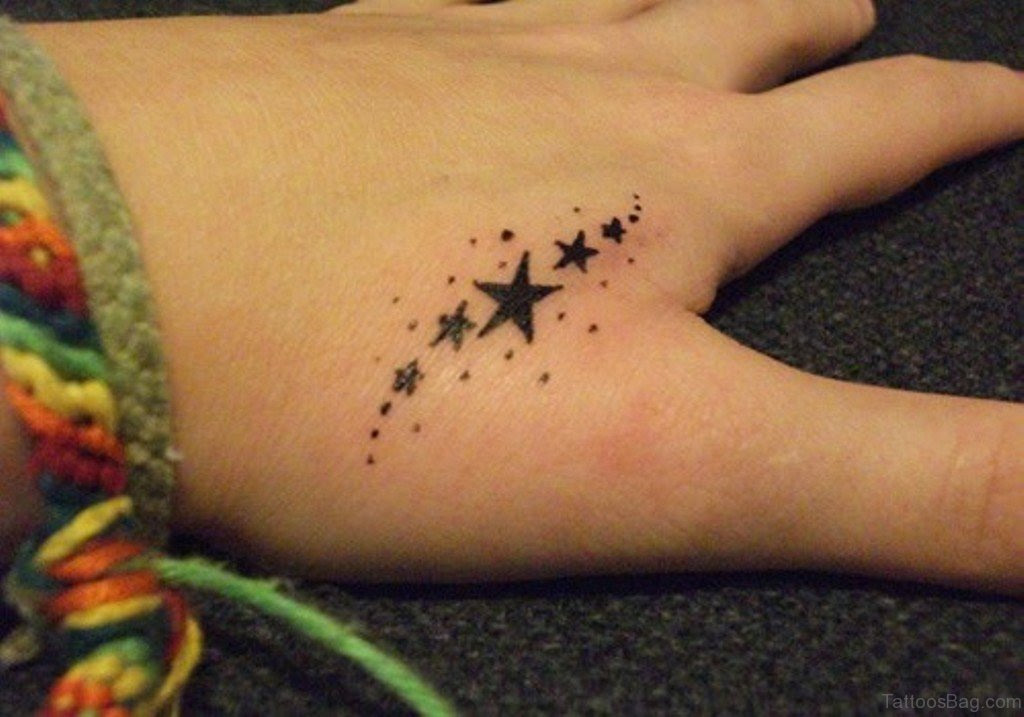 23 Best Star Tattoos For Fingers