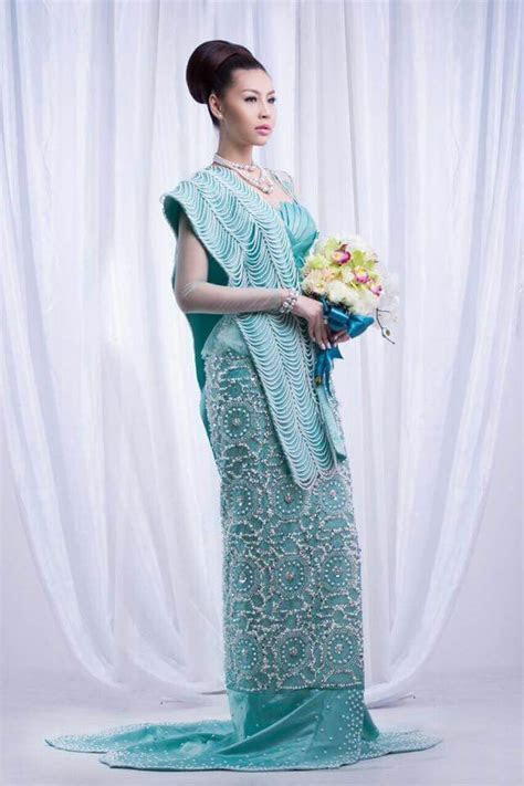 Myanmar wedding dress   Myanmar Wedding Dress   Pinterest