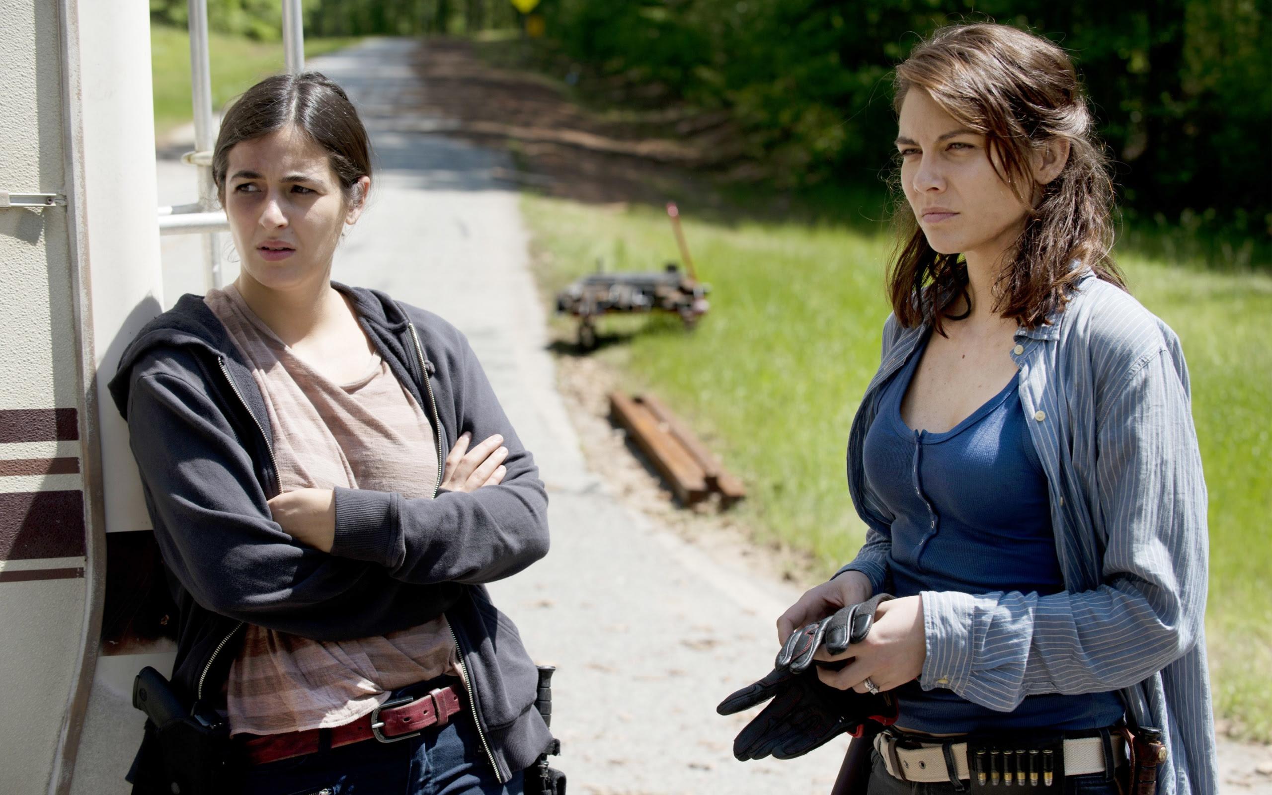 Tara Chambler Maggie Walking Dead Season 6 Wallpapers In Jpg
