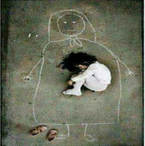 menina e o desenho