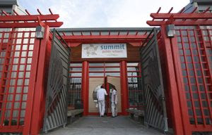 The director of Summit Sierra charter school in Seattle says it will be open for students on Tuesday. (Sy Bean / The Seattle Times)