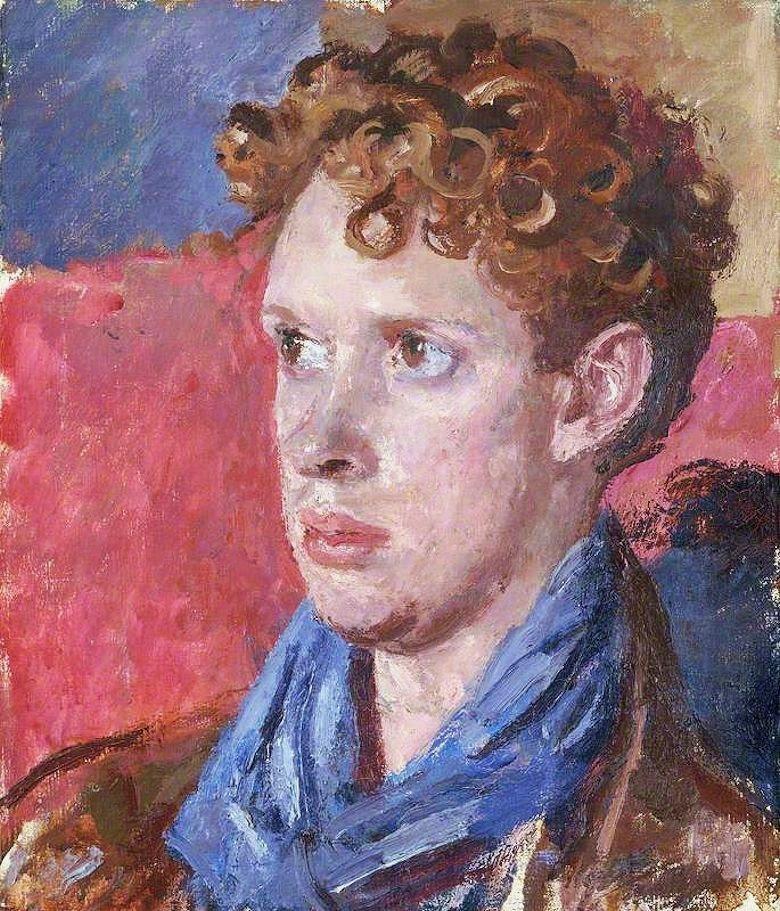 Augustus John, Portrait of Dylan Thomas, 1937–8