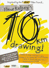 Fleur Kelsey and the 10 KM Drawing