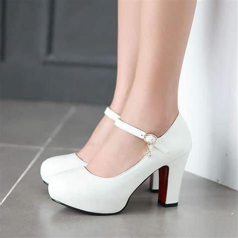 25  best ideas about White wedding heels on Pinterest