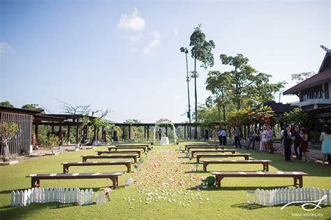 Garden Wedding at Pulai Springs Resort, JB: Andrew