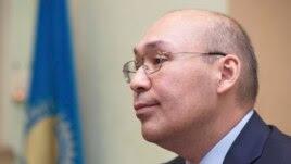 Кайрат Келимбетов в бытность председателем Национального банка Казахстана. Алматы, 11 февраля 2014 года.