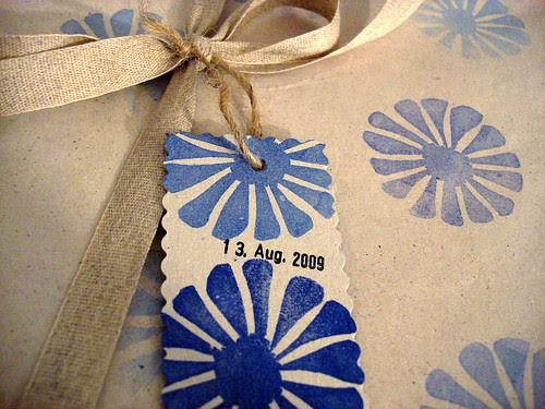 Geburtstags-Geschenk-Verpackung 13. Aug. 2009