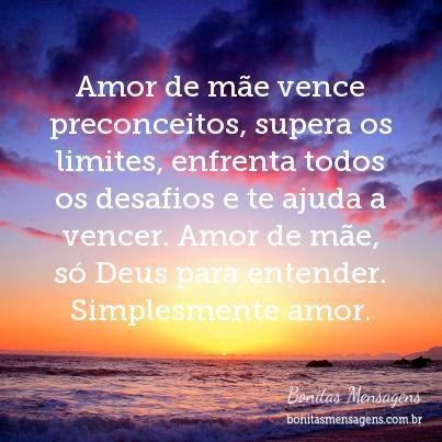 Amor De Mae Vence Preconceitos Supera Os Limites Enfrenta Todos Os