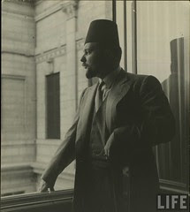 King Farouk in Abdeen Palace