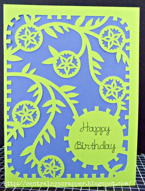 Elisabeth's Birthday Card 2014