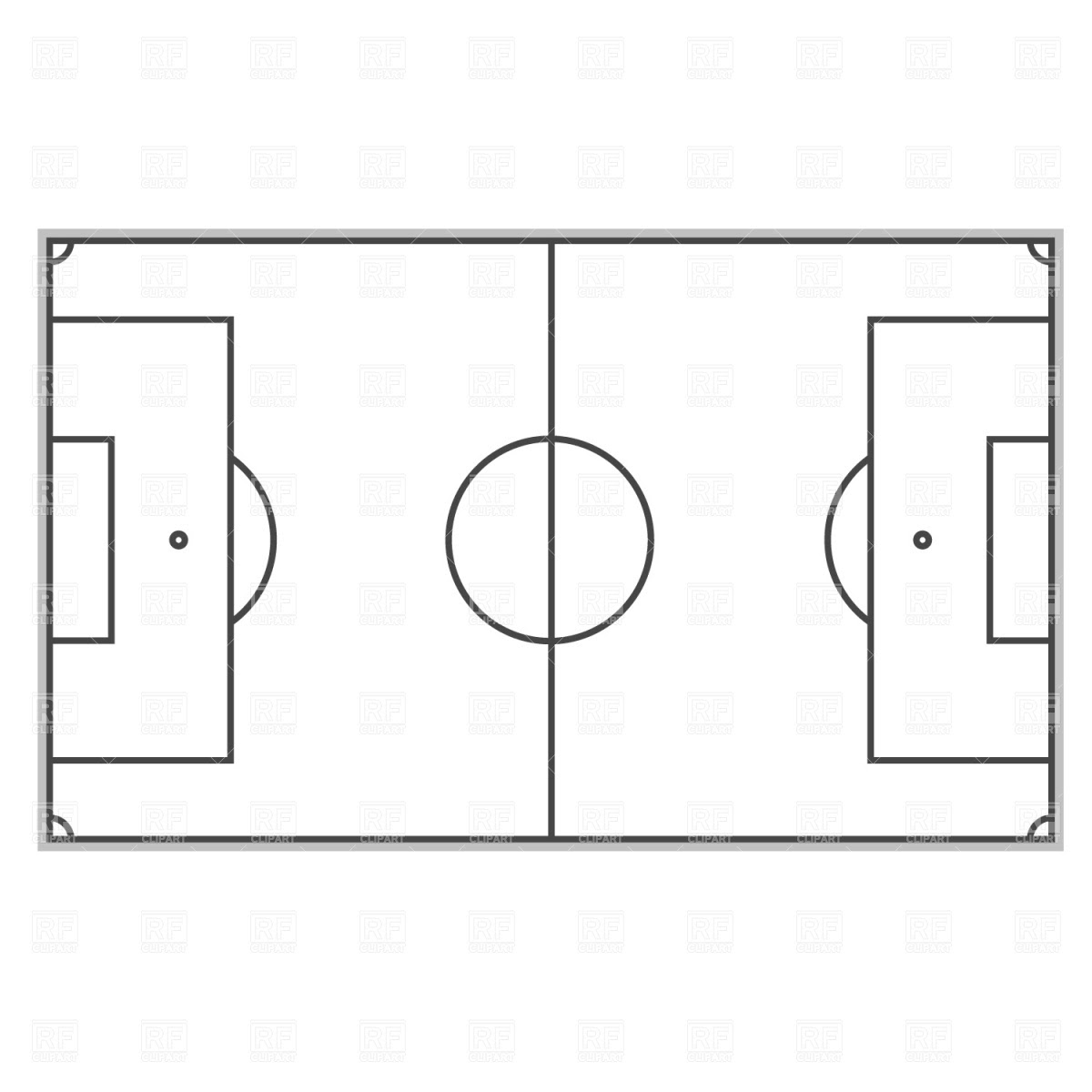 Free Soccer Field Layout, Download Free Clip Art, Free ...