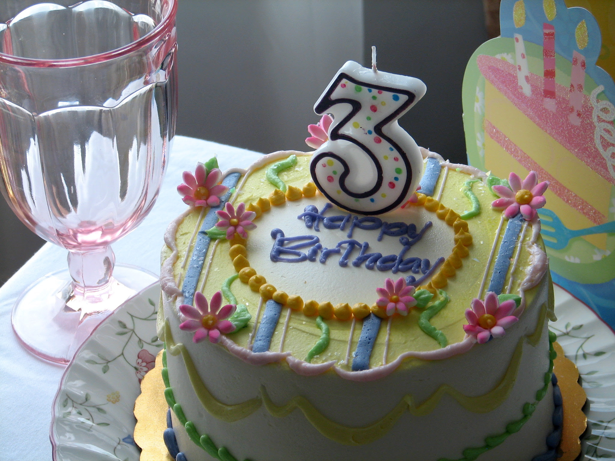 Image result for Birthday cake for 3rd birthday