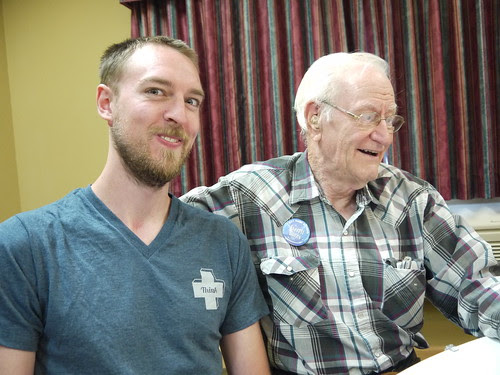 Scott and his grandpa