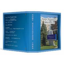 Home Healthcare Info Binder binder