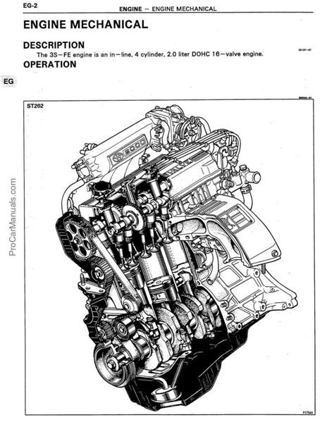 Toyota 3S-FE Engine Repair Manual (RM395) - Pdf Online
