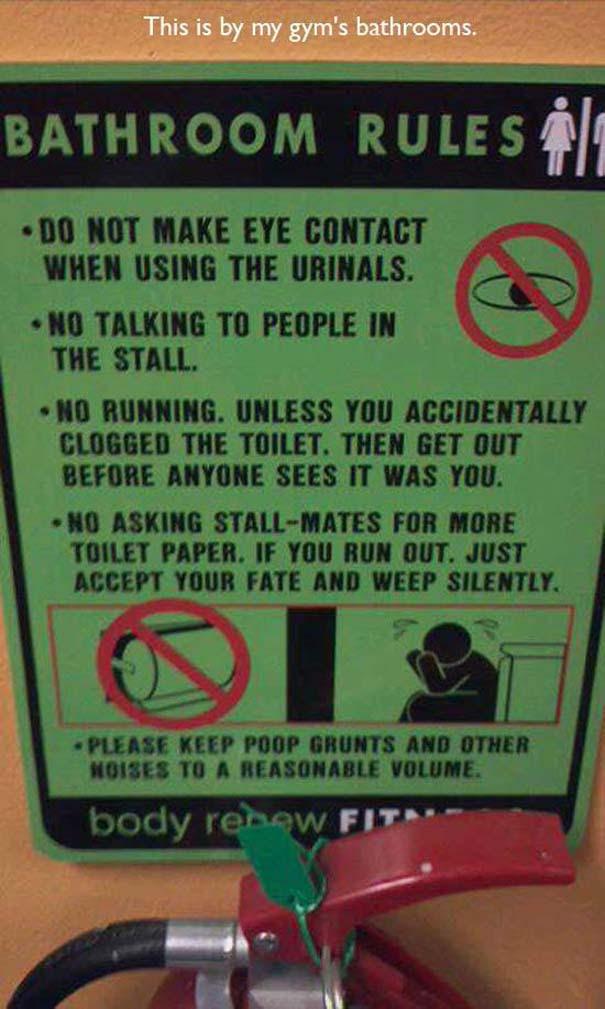 Παράξενες & αστείες στιγμές στο γυμναστήριο (1)