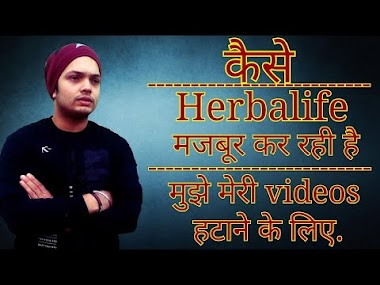 How Herbalife Trying to force me to Delete all my Videos | Prashant Sharma