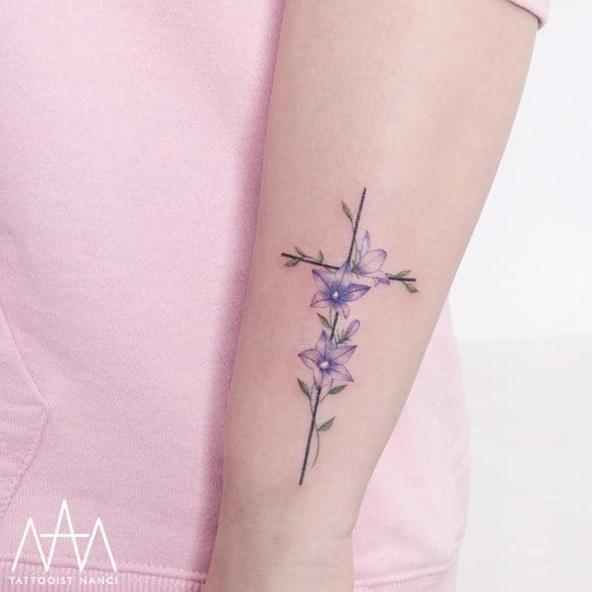 40 Colored Delicate Tattoos By Tattooist Nanci Tattooadore