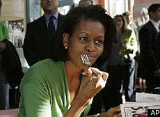 Obama, rivoluzione a tavola un orticello alla Casa Bianca