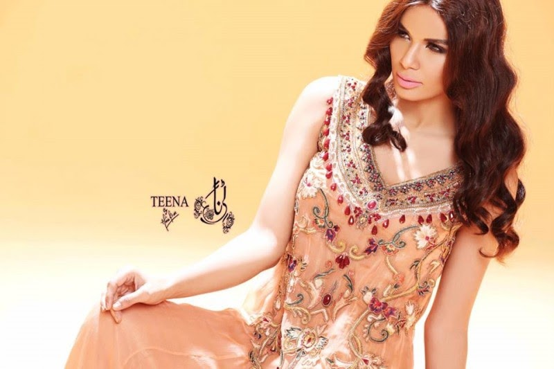 Teena by Hina Butt Spring-Summer Formal Party Wear Latest ...