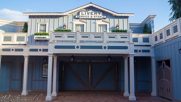 Disneyland Resort, Disneyland, Main Street U.S.A., Corridor, Livery