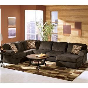 ashley furniture vista chocolate casual  piece
