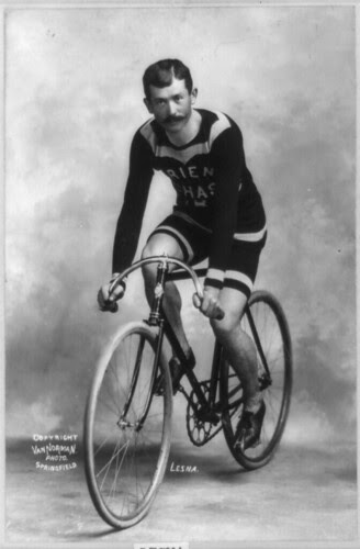 Lucien Lesna, French Cyclist (1898)