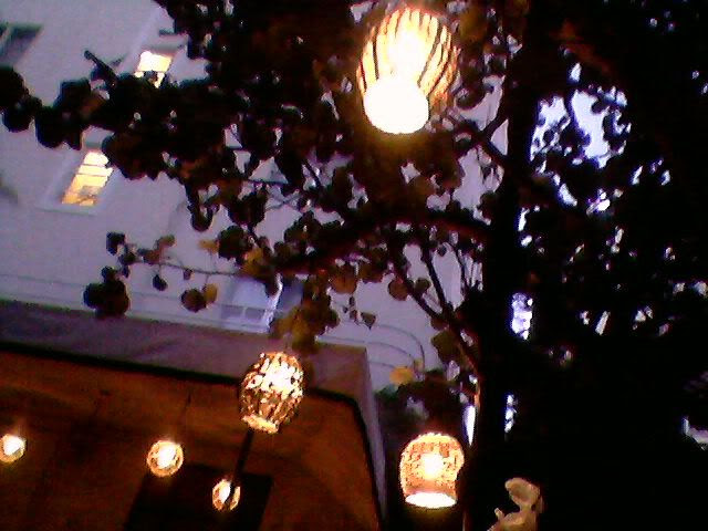Lanterns at The Raleigh