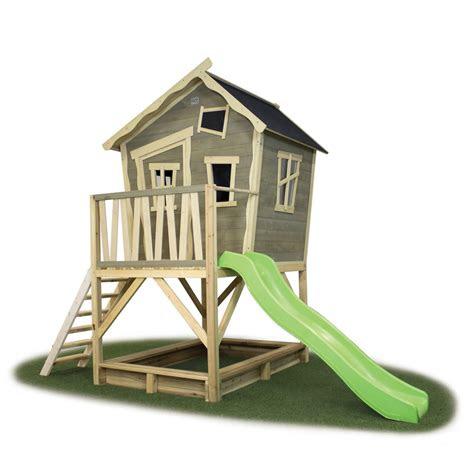 kinder spielhaus exit crooky  kinderspielhaus holz