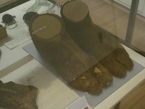 Petrie Museum University College London Coptic Egypt socks