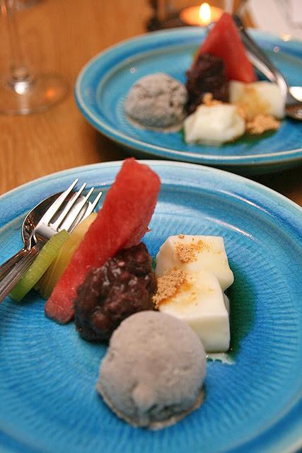 Milk Kuzu Mochi, Tokachi Azuki An, Goma Ice Cream